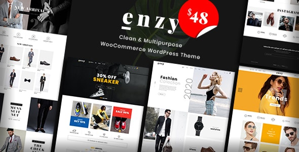 Enzy - Multipurpose WooCommerce WordPress Theme - WooCommerce eCommerce