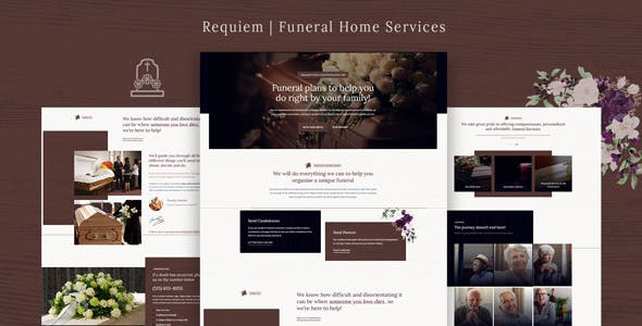 Requiem | Funeral Home Services WordPress Theme