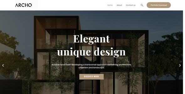 Archo - Architecture & Interior Elementor Template Kit