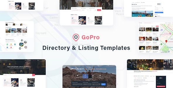 GoPro - Directory & Listing Templates - Corporate Photoshop