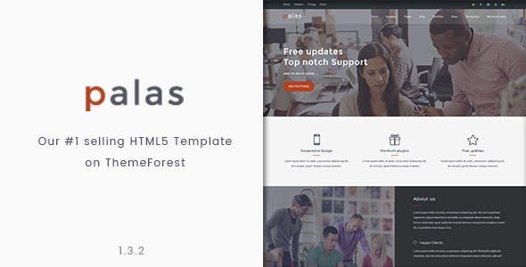 Palas - Bootstrap Multipurpose HTML5 Template
