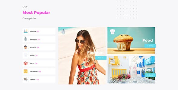 CouponSeek - Deals & Discounts WordPress Theme