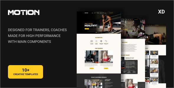 MTN - Fitness & Healthy Lifestyle Template - Health & Beauty Retail
