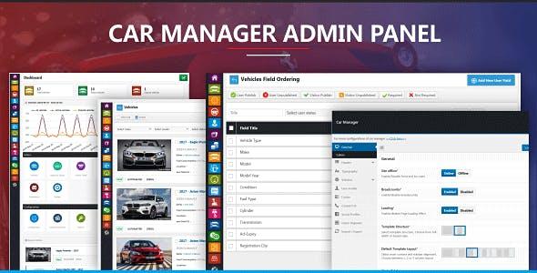 Car Manager - Car Dealership Business WordPress Theme