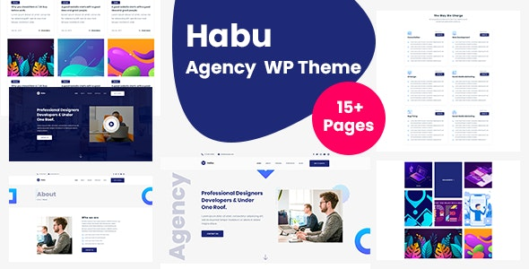 Habu - Creative Agency WordPress Theme - Corporate WordPress