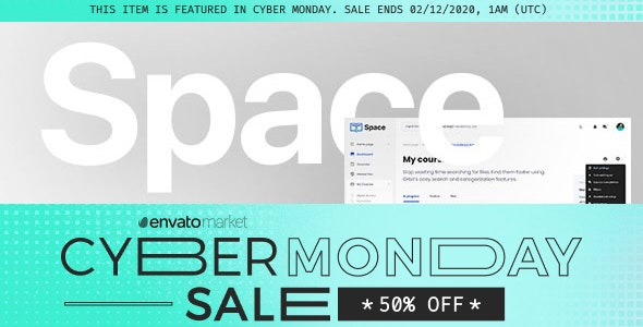 -50% | Space v1.11.6 | Responsive Premium LMS Moodle 3.8, 3.9, 3.10+ Theme, based on Bootstrap 4 - Moodle CMS Themes