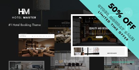 Hotel Master Booking WordPress - Travel Retail