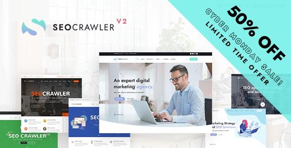 SEOCrawler - SEO & Marketing Agency WordPress - Marketing Corporate