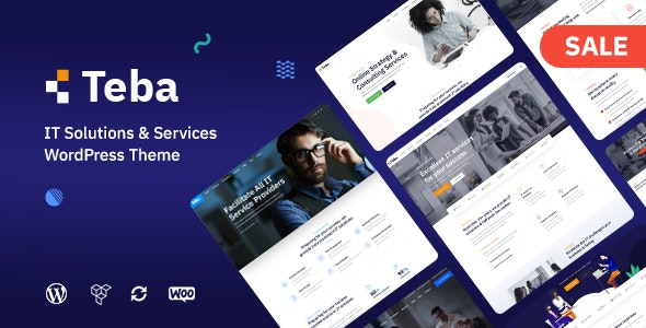 Teba - IT Solutions & Services WordPress Theme - Business Corporate