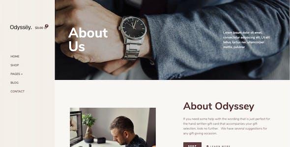 Odyssey – Jewelry & Watch Elementor Template Kit