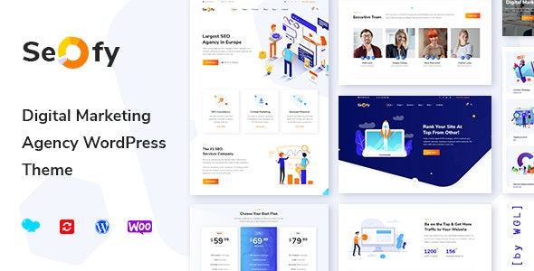 Seofy - Digital & Marketing WordPress Theme - Marketing Corporate
