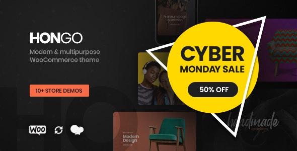 Hongo - Modern & Multipurpose WooCommerce WordPress Theme - WooCommerce eCommerce