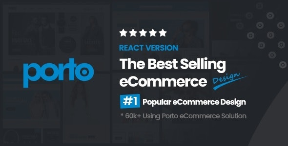Porto | React eCommerce Template - Shopping Retail