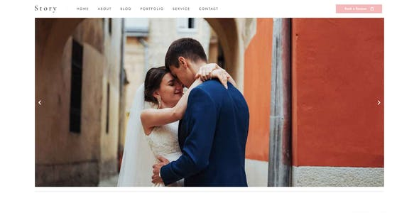 Story - Wedding Elementor Template Kit