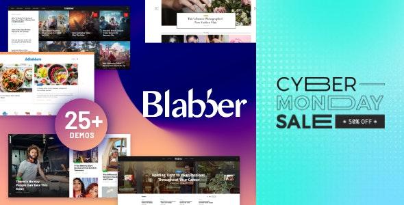 Blabber | All-in-One Elementor Blog & News Magazine WordPress Theme + RTL - News / Editorial Blog / Magazine