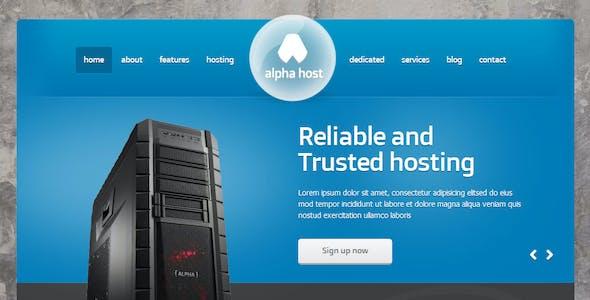 Alpha - Modern Hosting Template