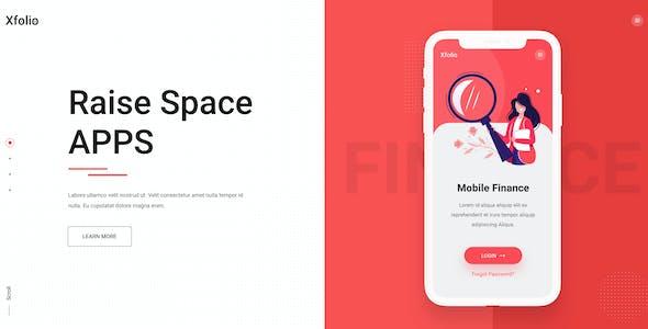 Xfolio - Creative Portfolio and Agency Figma Template