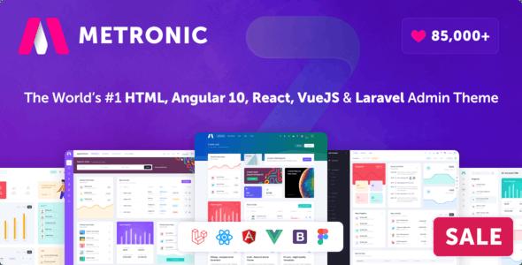 Metronic - Bootstrap 4 HTML, React, Angular 11, VueJS & Laravel Admin Dashboard Theme - Admin Templates Site Templates