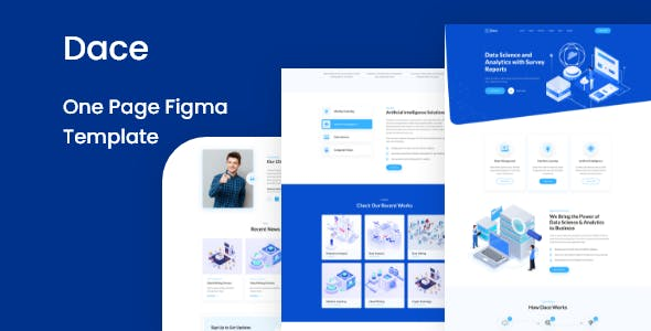 Dace - One Page Figma Template