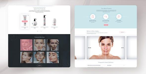 Qulo - Cosmetology and Botox Injection WordPress Theme