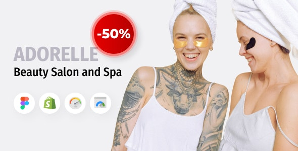 Adorelle - Beauty Salon and Spa Shopify Theme - Health & Beauty Shopify