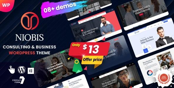 NioBis - Business Consulting WordPress Theme - Business Corporate