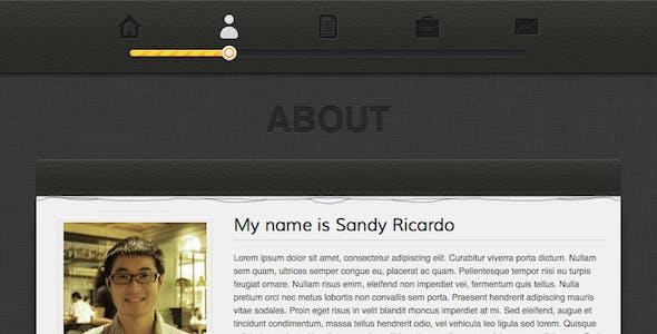 Ricardo - Responsive Personal vCard