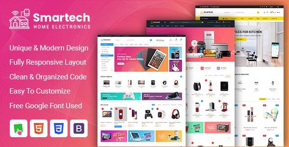 Smartech - Responsive PrestaShop 1.7 Hitech Theme - Shopping PrestaShop