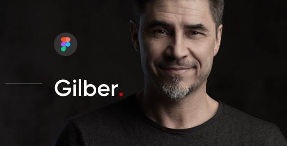 Gilber - Personal CV/Resume Figma Template