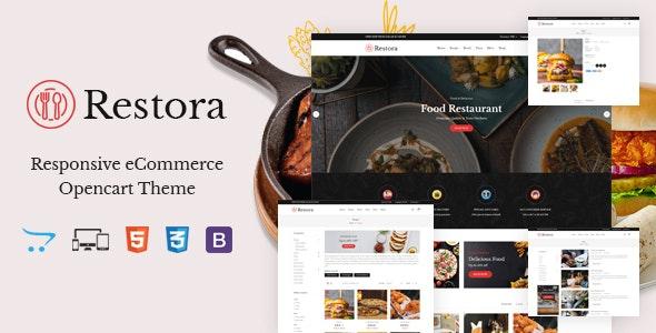Restora - Responsive OpenCart Theme - Health & Beauty OpenCart
