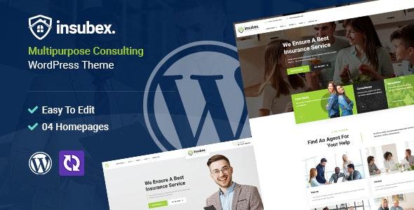 Insubex   Multipurpose Consulting WordPress Theme - Business Corporate