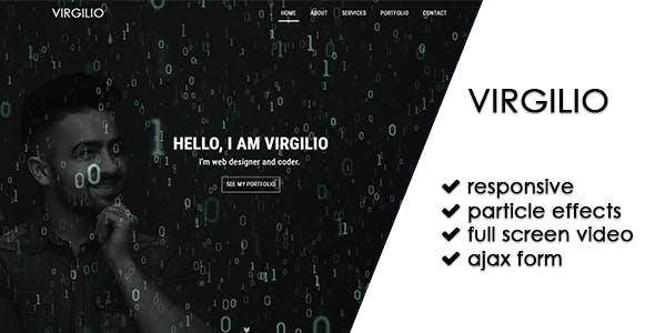 Virgilio   Personal Portfolio Theme