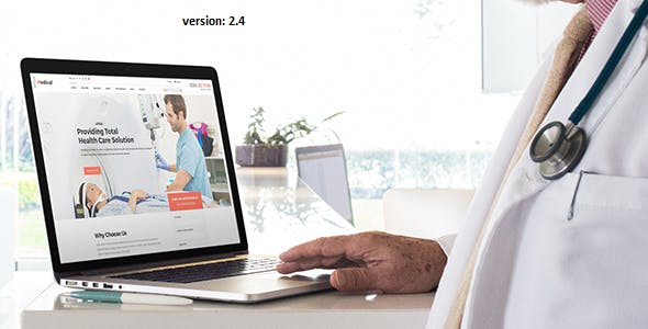 Medical - Health Drupal 8 and 9 Theme