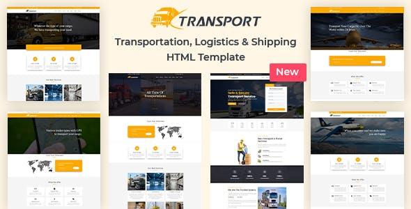 Transport & Logistics HTML Template