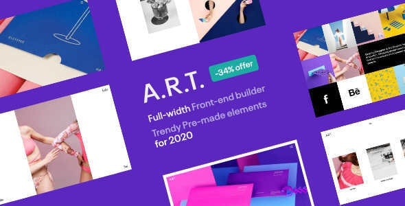 ART Gallery & Portfolio WordPress - Portfolio Creative