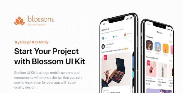 Blossom - Beauty UI Kit for Sketch