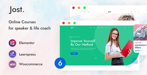 Jost - Coaching & Online Course WordPress Theme