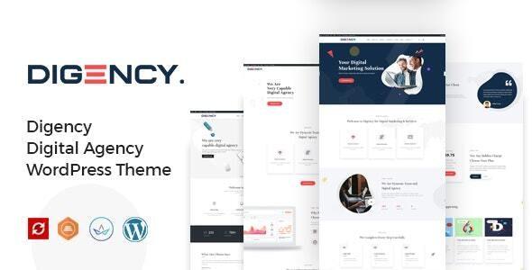 Digency – Multi-Purpose Portfolio WordPress Theme - Portfolio Creative