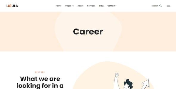 Ligula — Online Marketing & SEO agency Template Kit