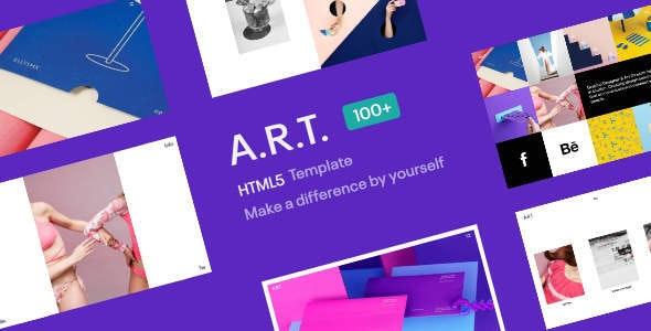 ART HTML5 Template for Creatives - Portfolio Creative