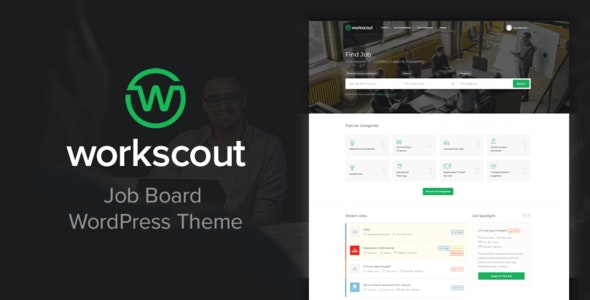 WorkScout - Job Board WordPress Theme - Directory & Listings Corporate