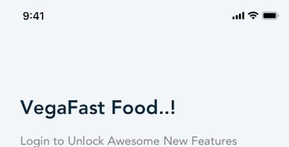 Vega - Food Delivery App UI