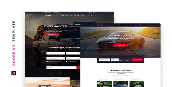 Rotors – Automotive Template for XD