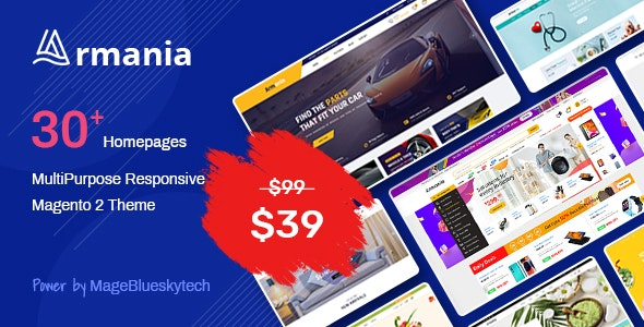 Armania - MultiPurpose Responsive Magento 2 Theme - Shopping Magento