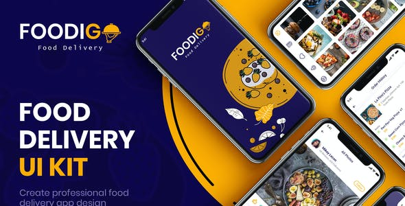 Food Delivery UI Kit for Figma