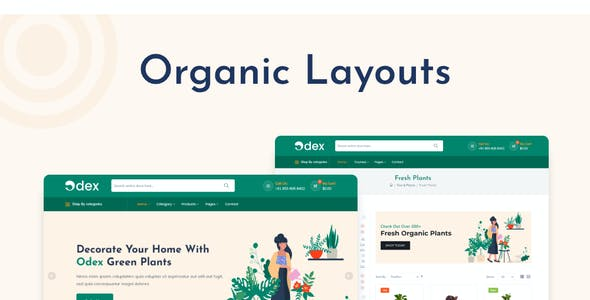 Odex - Organic Food HTML Template