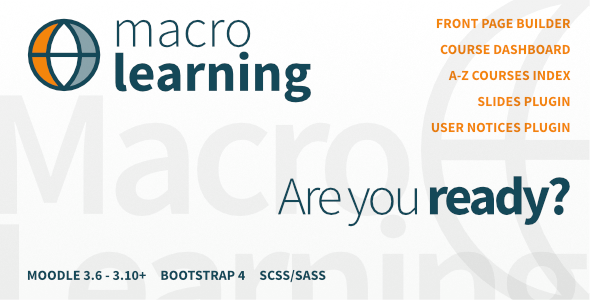 Macro Learning | Premium Moodle Theme - Moodle CMS Themes