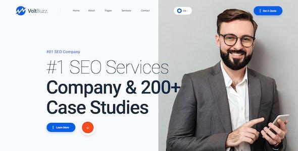 VoltBuzz - Digital Marketing Agency HTML Template