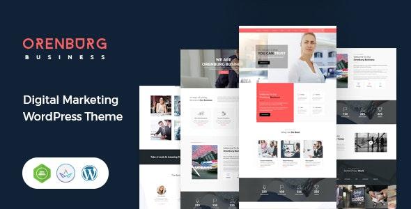 Orenburg - Business Consulting WordPress Theme - Business Corporate