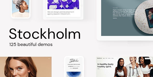 Stockholm - A Genuinely Multi-Concept Theme - Creative WordPress